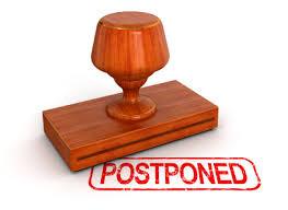 Junior High League - Round Postponed