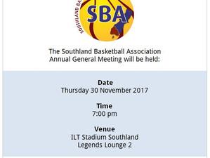 REPOST: SBA Annual General Meeting