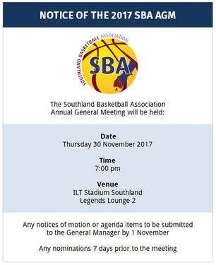 SBA Annual General Meeting