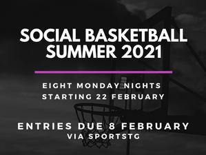 Summer Social Basketball League 2021