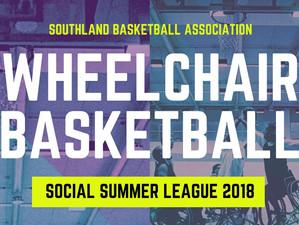 Wheelchair Basketball Social League