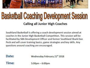 Coaching Development Session