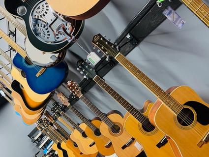 retail acoustic guitars