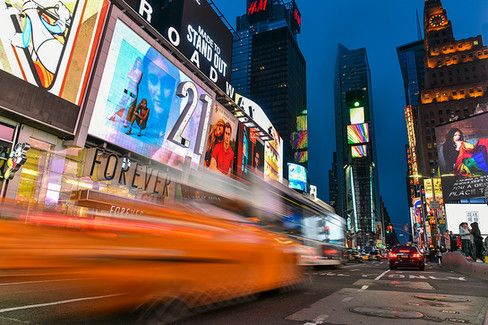 TIME SQUARE | NEW YORK