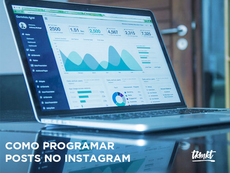 Como programar posts no Instagram