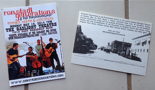 Concert Flyers and Postcards