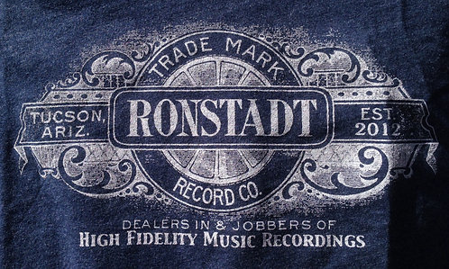 Ronstadt Record Co Shirt (Midnight Navy)