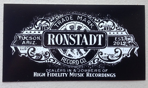 Ronstadt Record Co. Sticker
