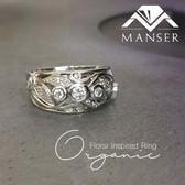 White Gold Organic Shaped Diamond Ring.jpg
