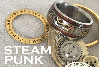 steampunk ring, gear ring, watch gear ring, watch movement ring, vintage gear ring