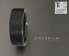 black ring, black zirconium ring, black wedding ring, matte back ring, gun metal grey ring