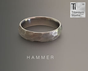 hammered finished titanium ring.jpg