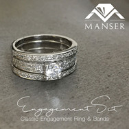 Engagement Ring and Matching Wedding Bands.jpg