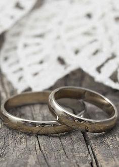 Titanium fingerprint engarved ring, titanium wedding band, titanium ring