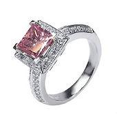 pink diamond ring, pink diamond, fancy diamond