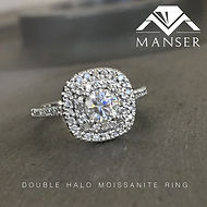double halo moissanite engagement ring.j