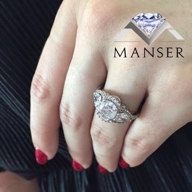 4 Carat White Gold and Diamond Ring.jpg