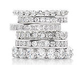eternity bands, wedding bands, eternity ring, half eternity ring, full eternity ring