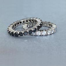 Full Eternity Moissanite Rings