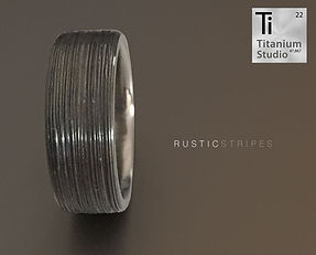 rustic-titanium-ring-with-strip-engravin