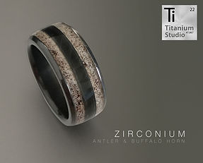 black-zirconium-wedidng-ring-with-antler