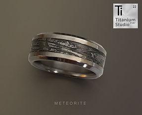 Meteorite titanium mens ring.jpg