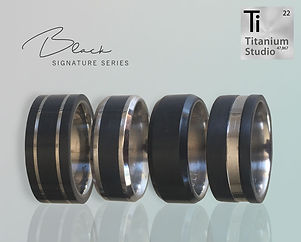 black ring black wedding band, blacktitanium, black tungsten, black mens ring