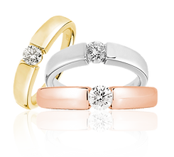 yellow gold white gold rose gold