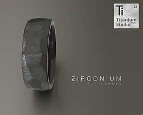 hammered black ring, black ring, matte black ring, mens black ring, zirconium ring, black zirconium ring