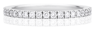 half eternity band, full eternity band, eternity ring, diamond eternity ring,