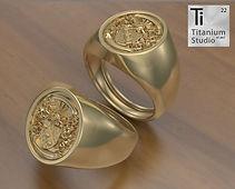 Crest ring, signet ring, sygnet ring, family ring, family crest ring