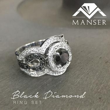 black-diamond-ring-set-and-matching-wedd