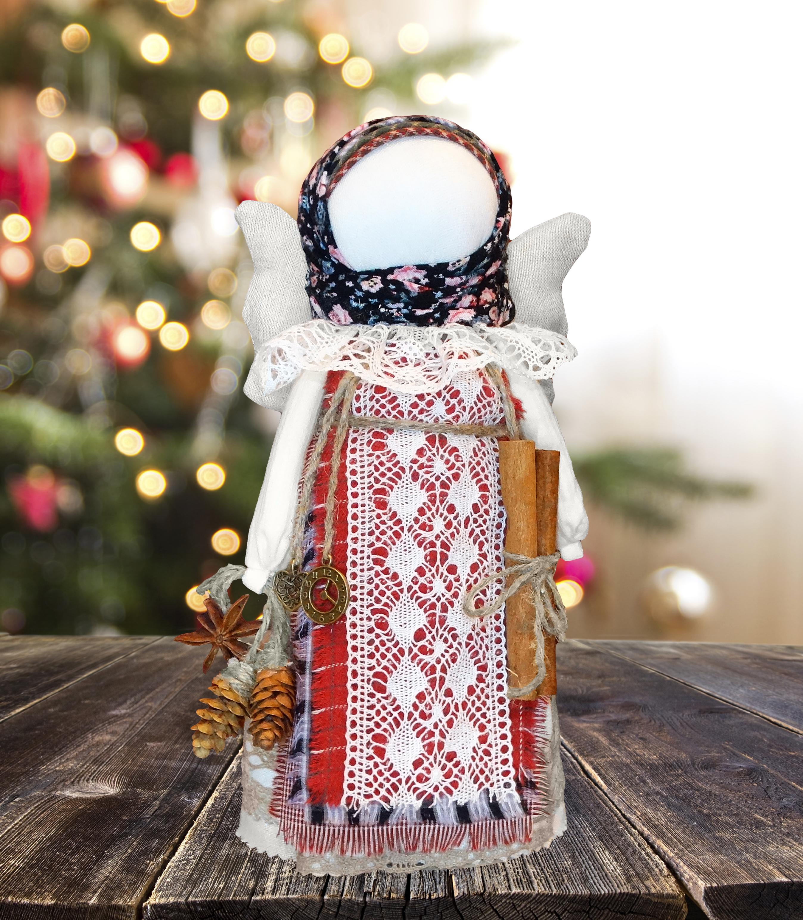 Weihnachtsengel-Puppe