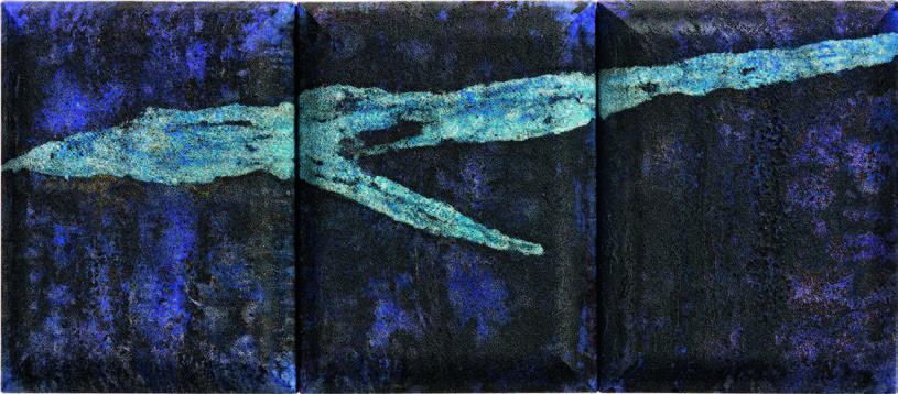 Du_bleu_profond_se_détachait_par_contraste,_l'éclair_blanc_(triptyque)