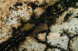 Agglomération périphérique de silice (détail 1-1)