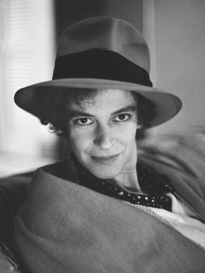 MARY-HELEN MAUTNER IN NANCY'S HAT, WASHINGTON, D.C., 1972
