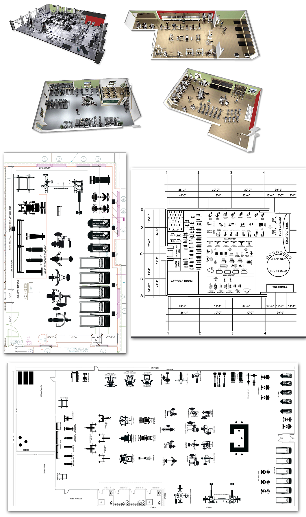 Facilty Layout Including Floor Plans, Blueprints, Space Assist