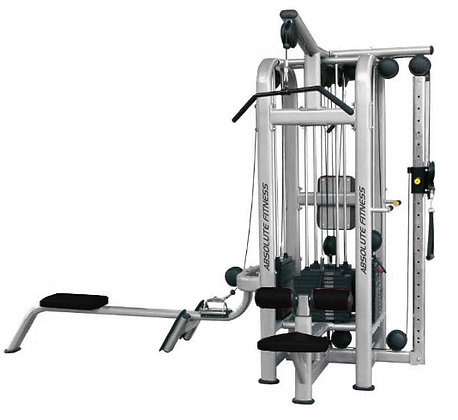 MTS-440S 4 STACK MULTI-STATION GYM