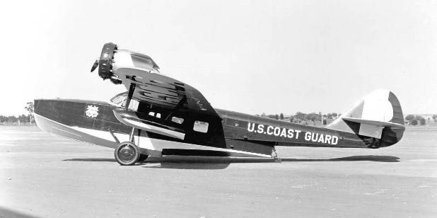 U.S coast Guard RD-2 in June, 1932