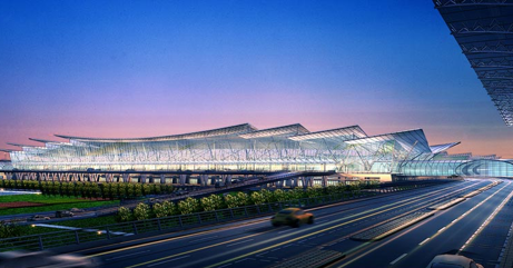 A Sparkling New City Airport in China
