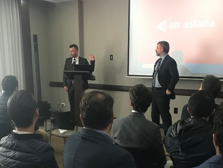 Brookfield Roadshow – Moving on to South America!