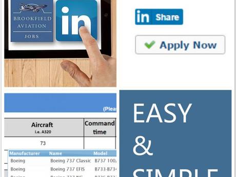 Brookfield New Pilot Recruitment Database Launched!