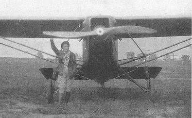 Legends of Aviation # 12:  Eula Pearl Carter