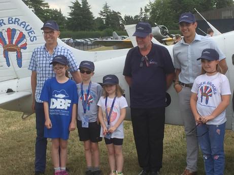 Brookfield Sponsors Young Aviators