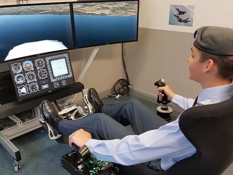 Brookfield Sponsors Air Cadet Simulator
