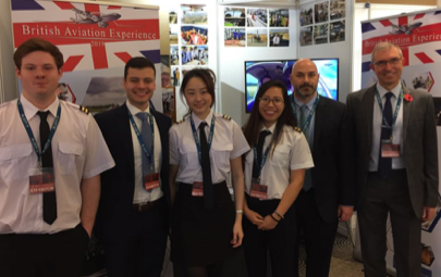 Brookfield team at Pilot Careers Live
