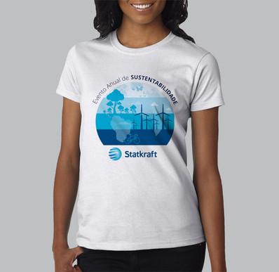Camiseta evento Statkraft