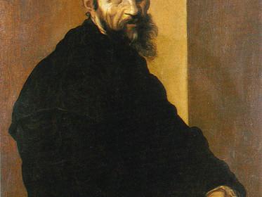 Self-portrait of Michelangelo
