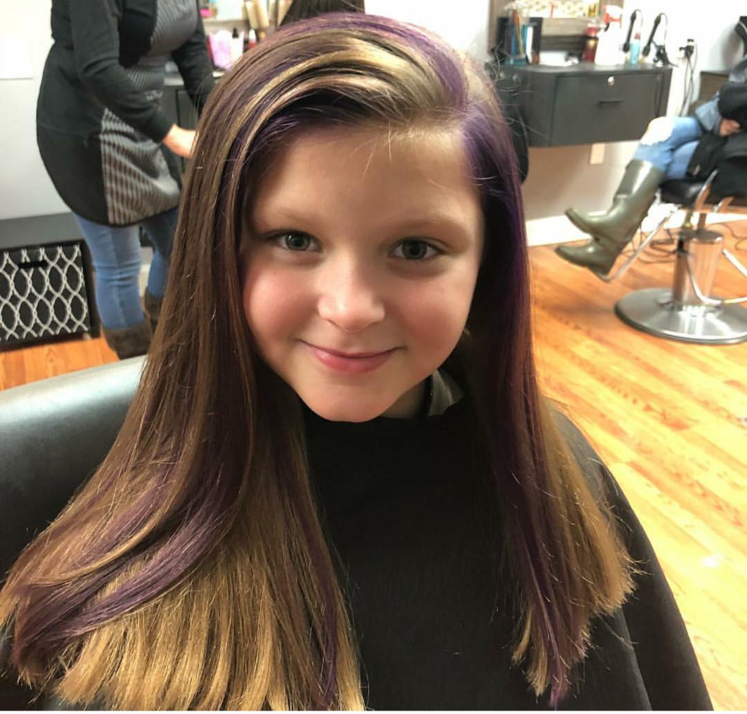 Girl's Haircut