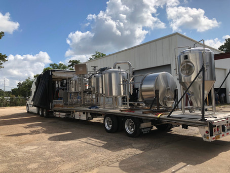 Our Brewhouse Arrives!